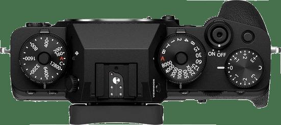 Black Fujifilm X-T4 System Camera + Lens (XF 18-55mm) Kit.4