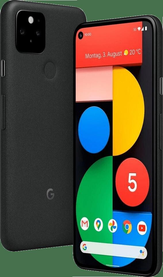 Just Black Google Smartphone Pixel 5 - 128GB - Dual Sim.1