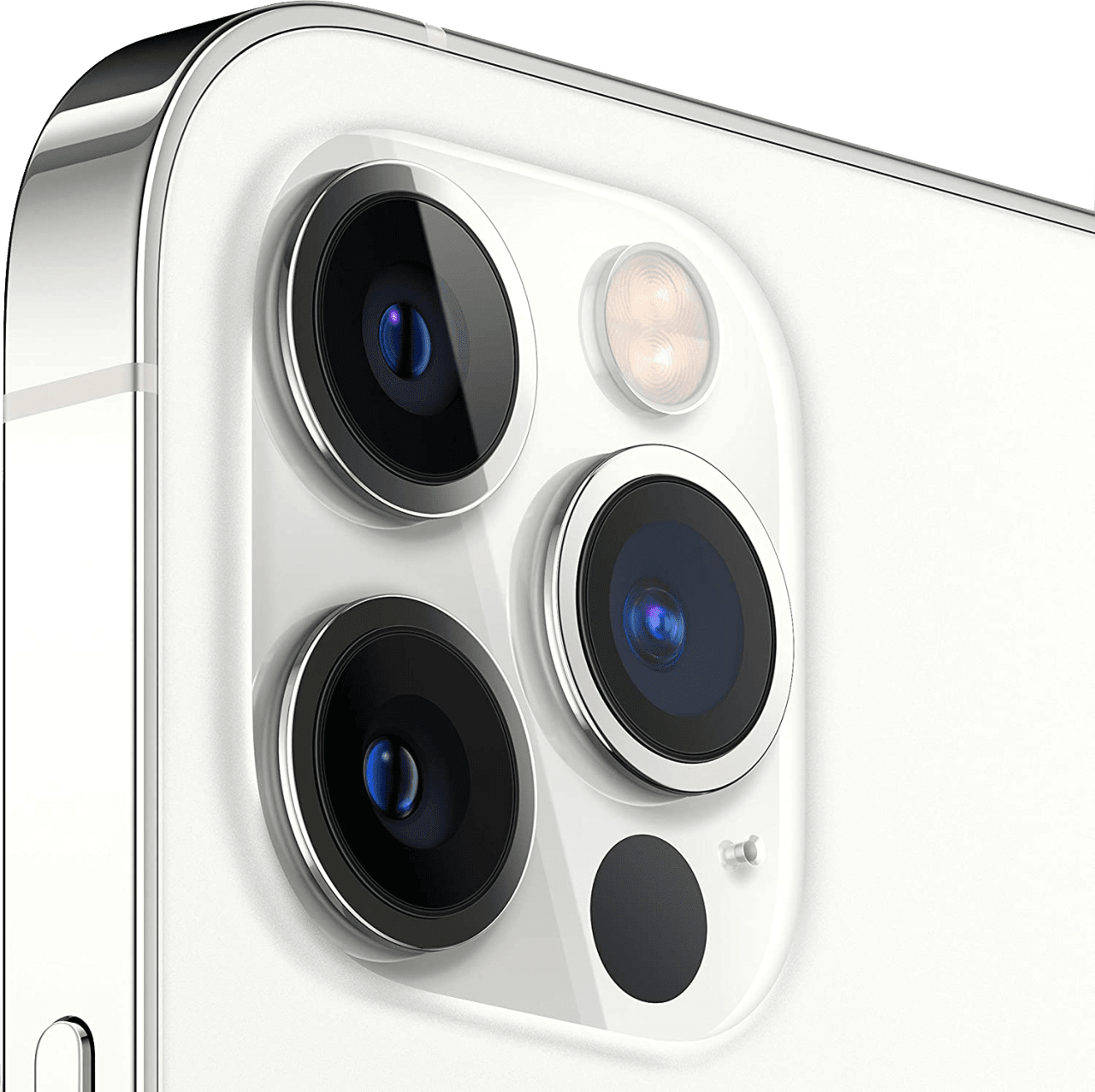 Silver Apple iPhone 12 Pro Max - 256GB - Dual Sim.4