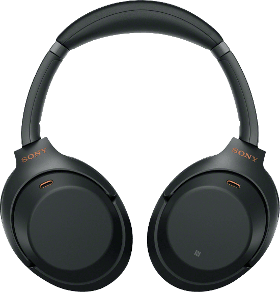Black Sony WH-1000 XM3 Over-ear Bluetooth Headphones.3