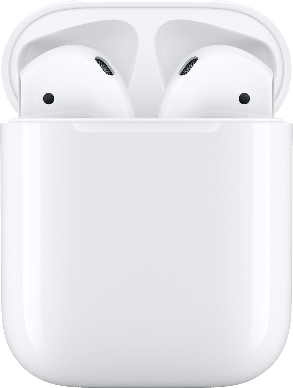 White Apple AirPods with Standard Charging Case (2019 Gen 2).1