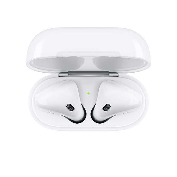White Apple AirPods with Standard Charging Case (2019 Gen 2).4