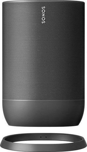 Black SONOS Move Smart Speaker.4