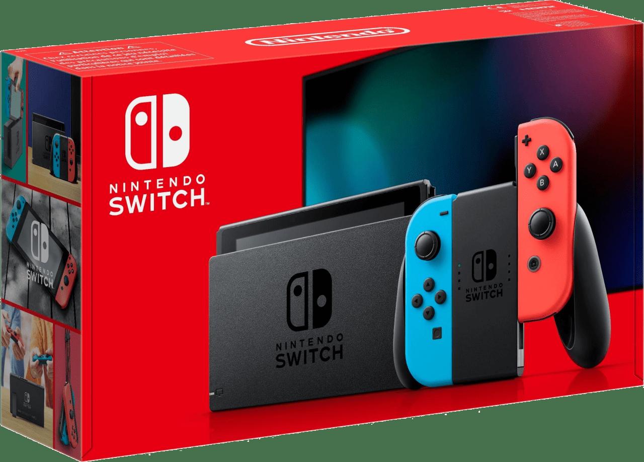 Neon Red / Neon Blue Nintendo Switch - 32GB (2019 Edition).2