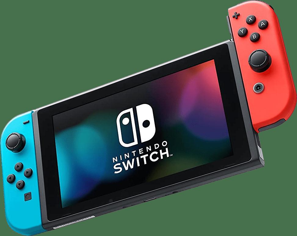 Neon Red / Neon Blue Nintendo Switch - 32GB (2019 Edition).1