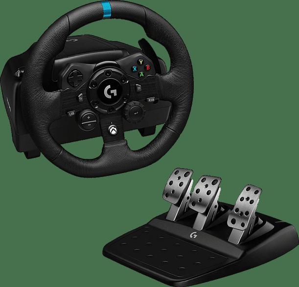 Black Logitech G923 Gaming Wheel (XBOX + PC).1