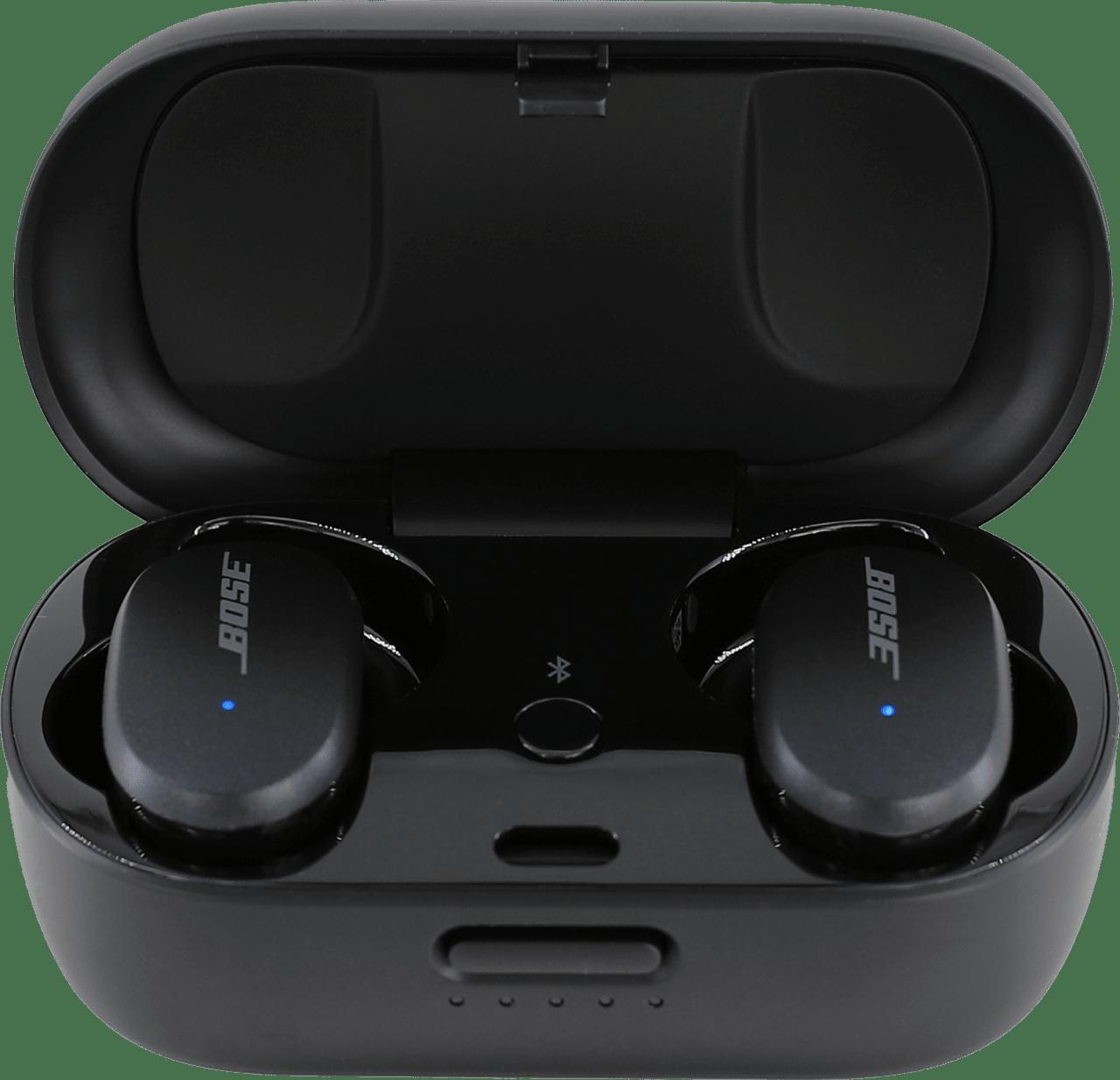 Black Bose QuietComfort Noise-cancelling In-ear Bluetooth Headphones.3