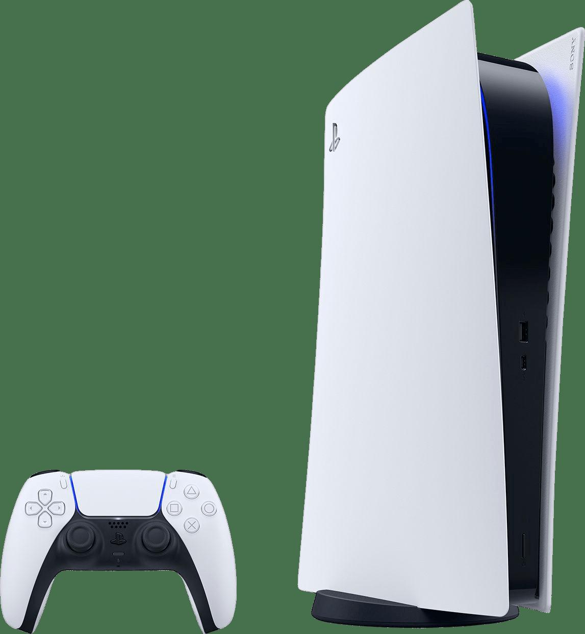 White Sony PlayStation 5 Digital Edition.1