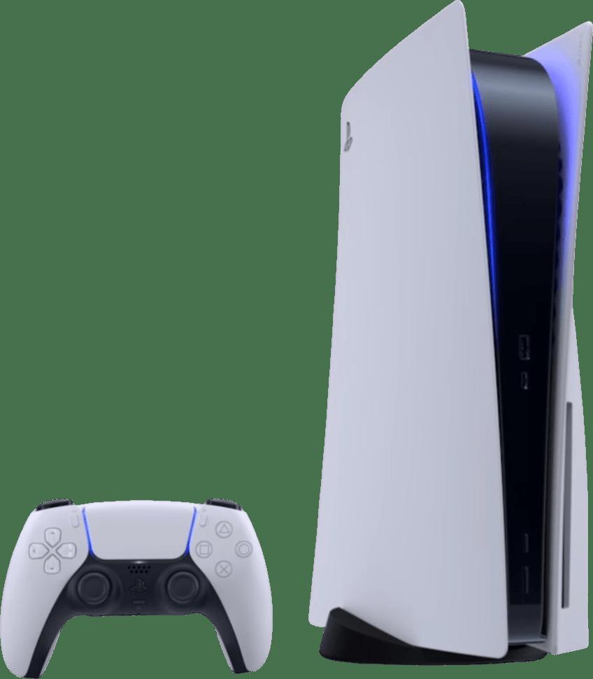 White Sony PlayStation 5.1