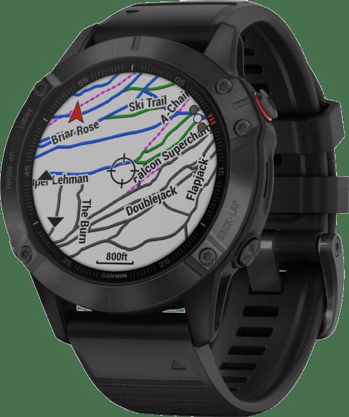 Black Garmin Fenix 6 Pro GPS Sports watch, 47mm.3