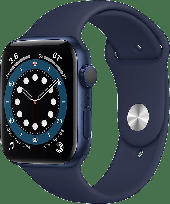 Dark marine Apple Watch Series 6 GPS, 40mm Aluminium case, Sport band.1