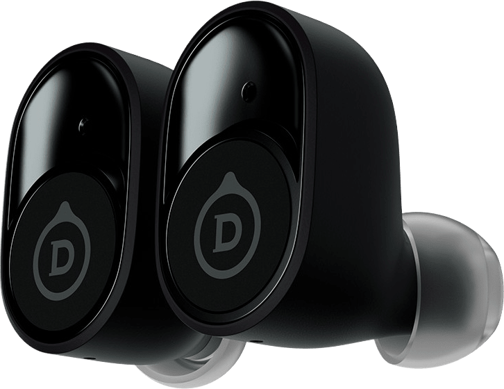 Mat Zwart Devialet Gemini Draadloze Ruisonderdrukkende In-ear Bluetooth Hoofdtelefoon.3