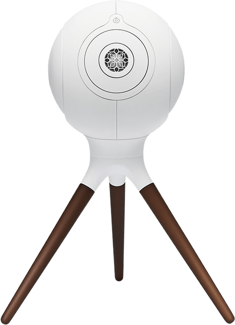 Ikonisches Weiß Devialet Treepod Hochwertiger Ständer für Phantom I.4