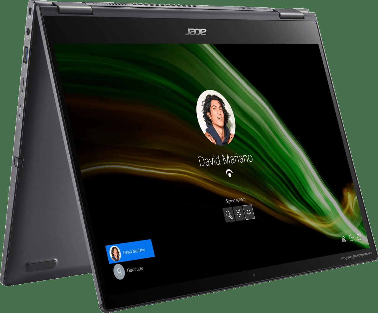 Grey Acer Spin 5 SP513-55N-771F Convertible - Intel® Core™ i7-1165G7 - 16GB - 1TB SSD - Intel® Iris® Xe Graphics.1