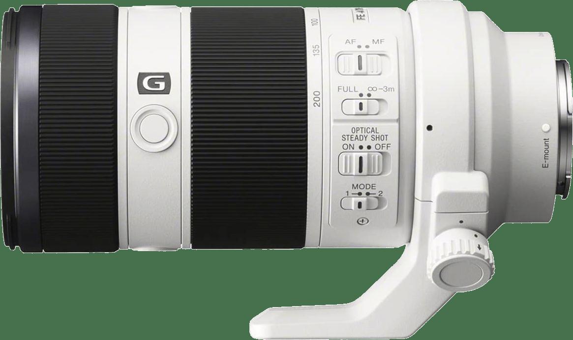 Weiß Sony SEL 70-200mm f/4 G-Serie.1