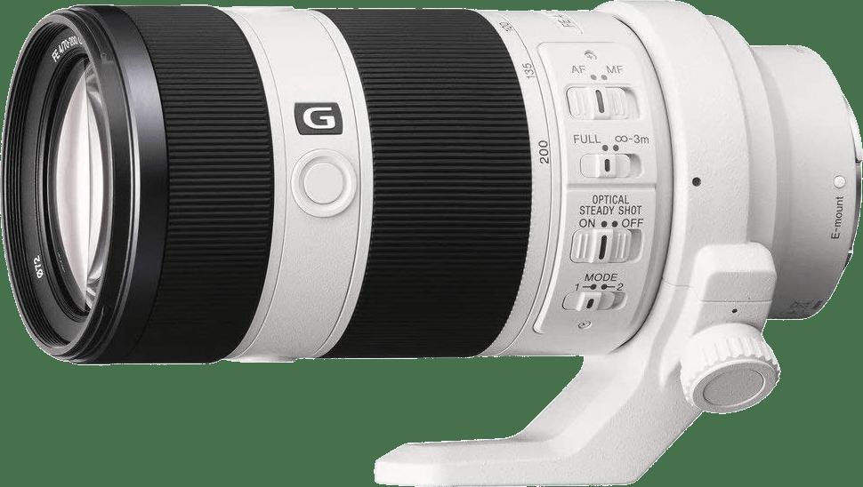 Weiß Sony SEL 70-200mm f/4 G-Serie.2