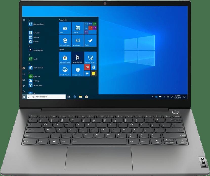 Black Lenovo ThinkBook 14 G3 ACL Laptop - AMD Ryzen™ 5 5500U - 8GB - 256GB SSD - AMD RX Vega 7.1