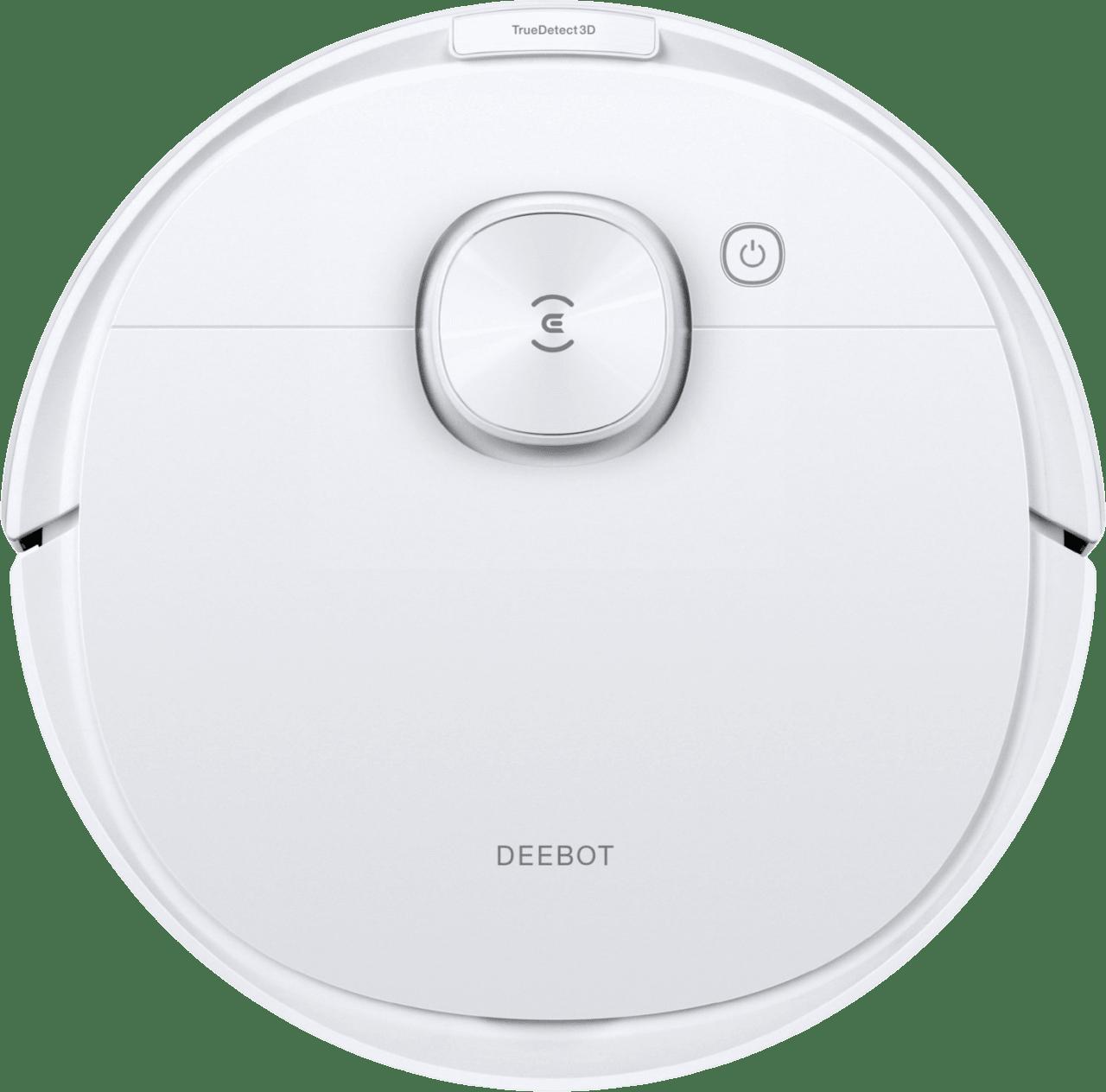 Weiß Ecovacs Deebot N8 Pro Saugroboter mit Wischfunktion.1