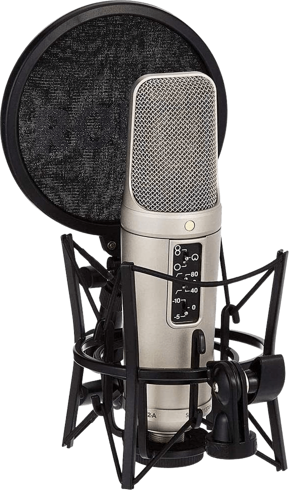Black Rode NT2-A Large-diaphragm Microphone.2