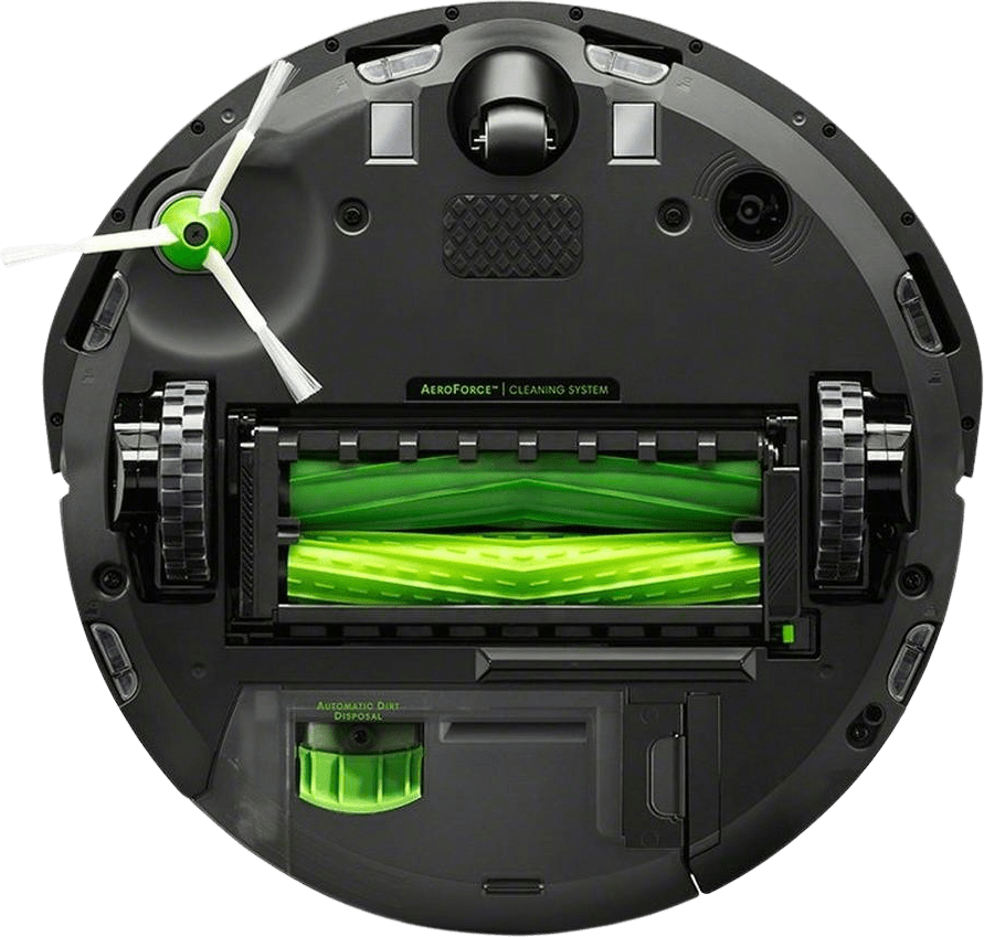 Black iRobot Roomba i7+ Vacuum Cleaner Robot with Dirt Disposal Station.3