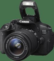 Canon EOS 700D + EF-S 18-55 mm lens