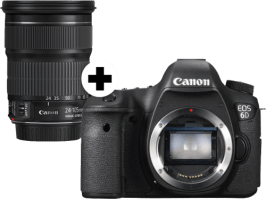 Canon EOS 6D + EF 24-105 mm