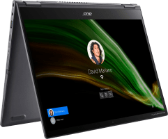 Acer Spin 5 SP513-55N-771F Convertible - Intel® Core™ i7-1165G7 - 16GB - 1TB SSD - Intel® Iris® Xe Graphics
