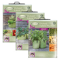 Oxford Fabric Planters from Haxnicks