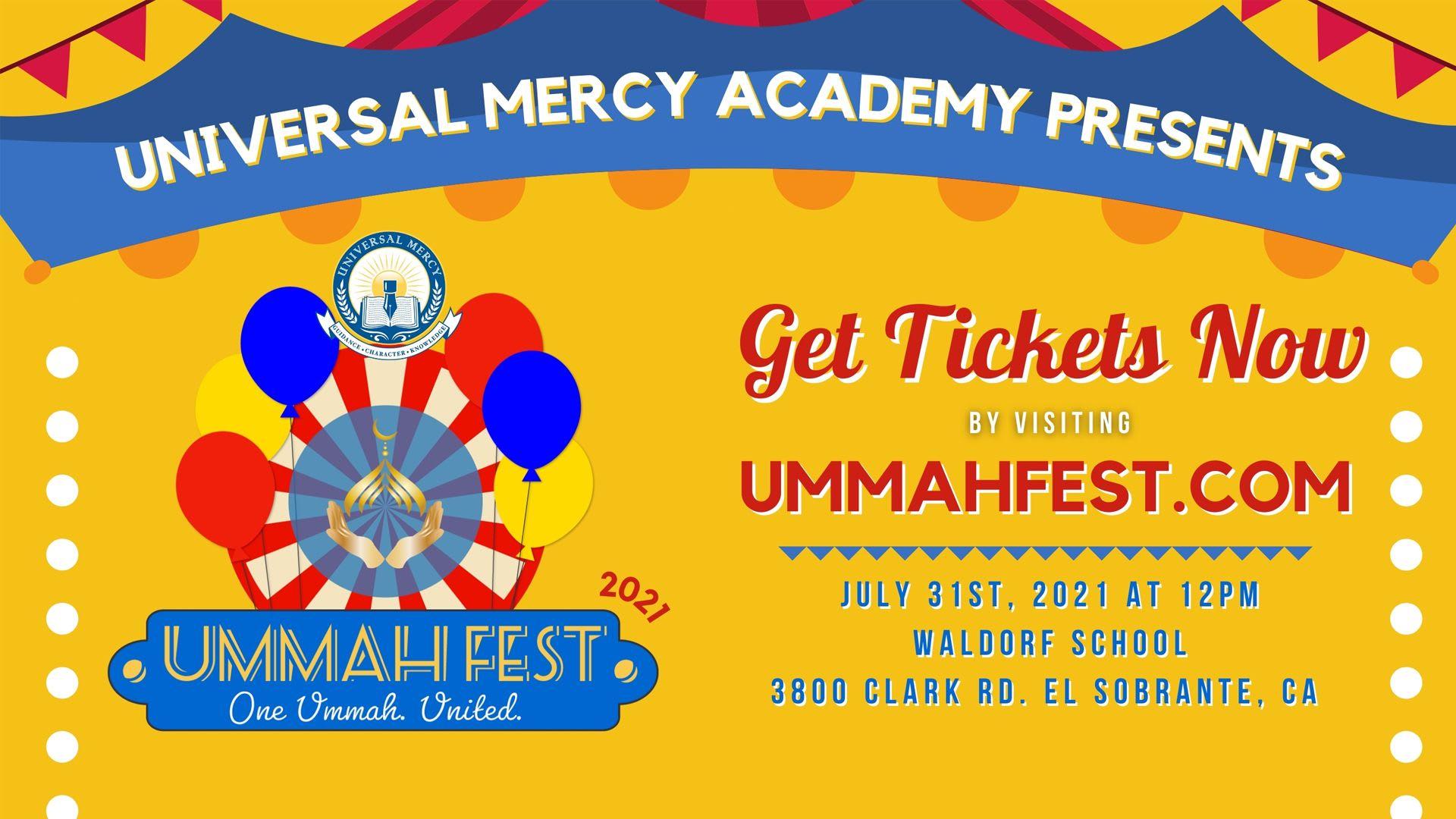 Ummah Fest 2021 - Register Now!