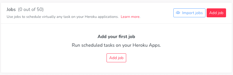 Add your first job in Cron To Go