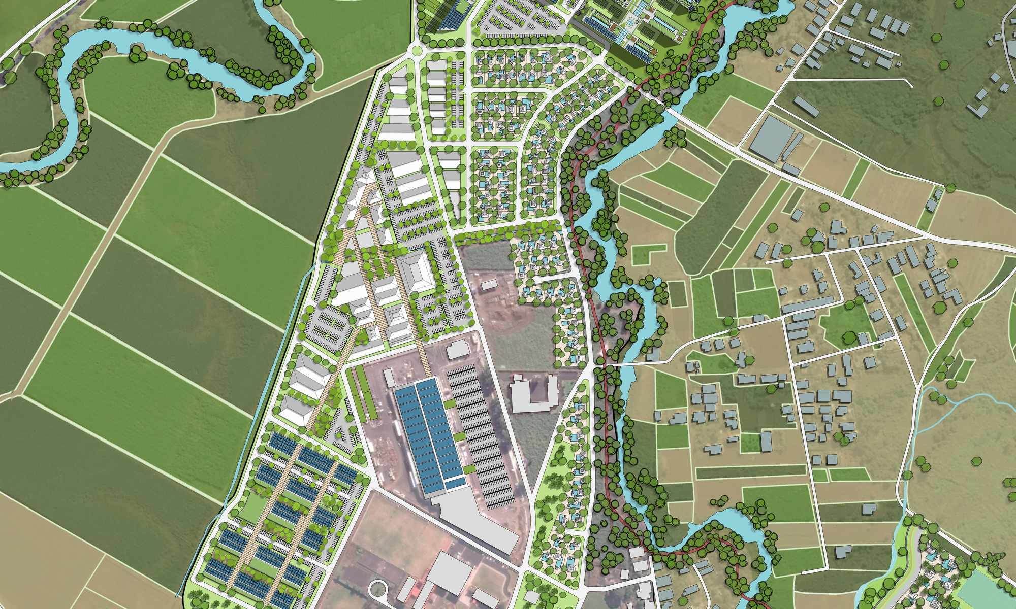 Centre de Flacq Smart City Master Plan