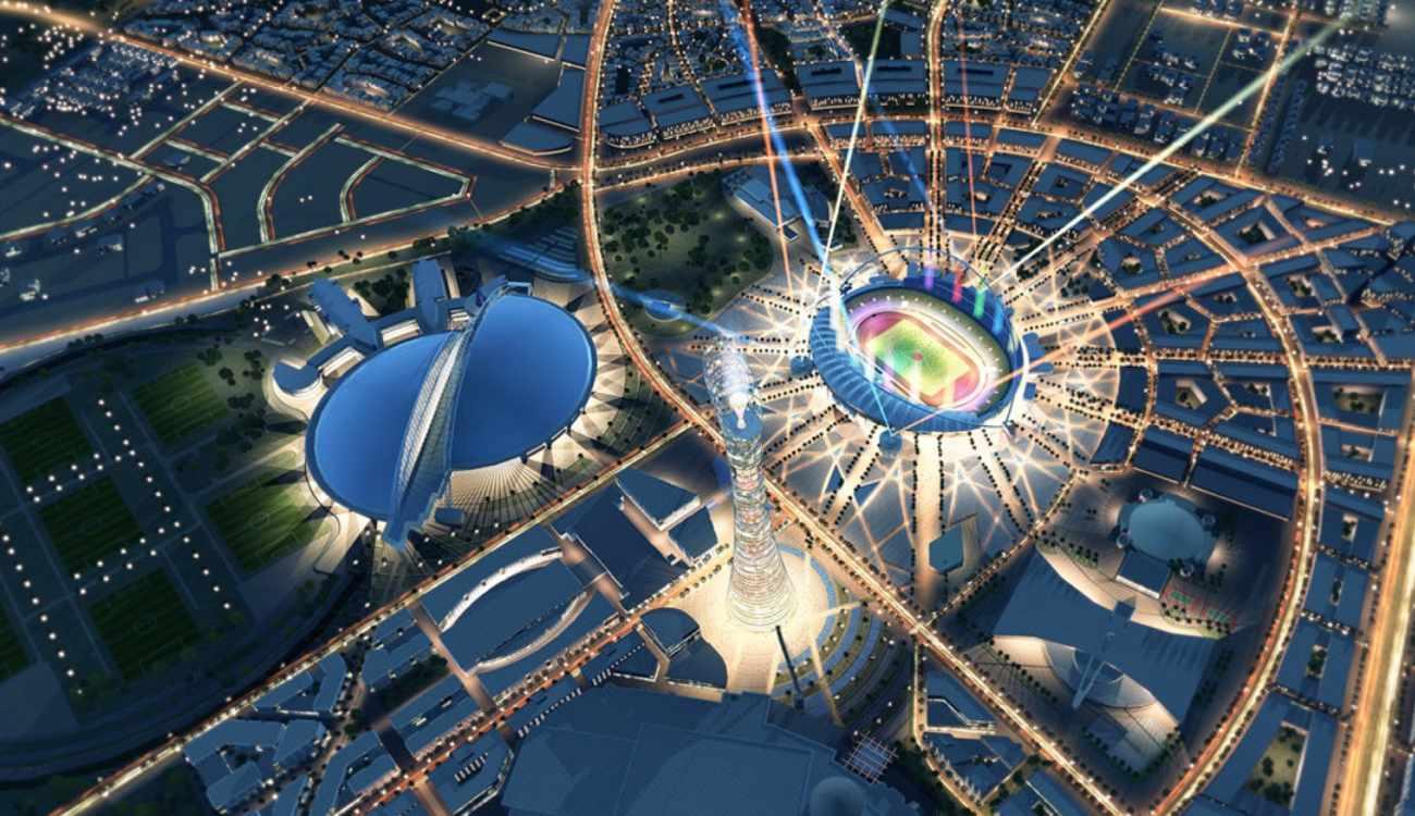 Qatar Centre Master Plans