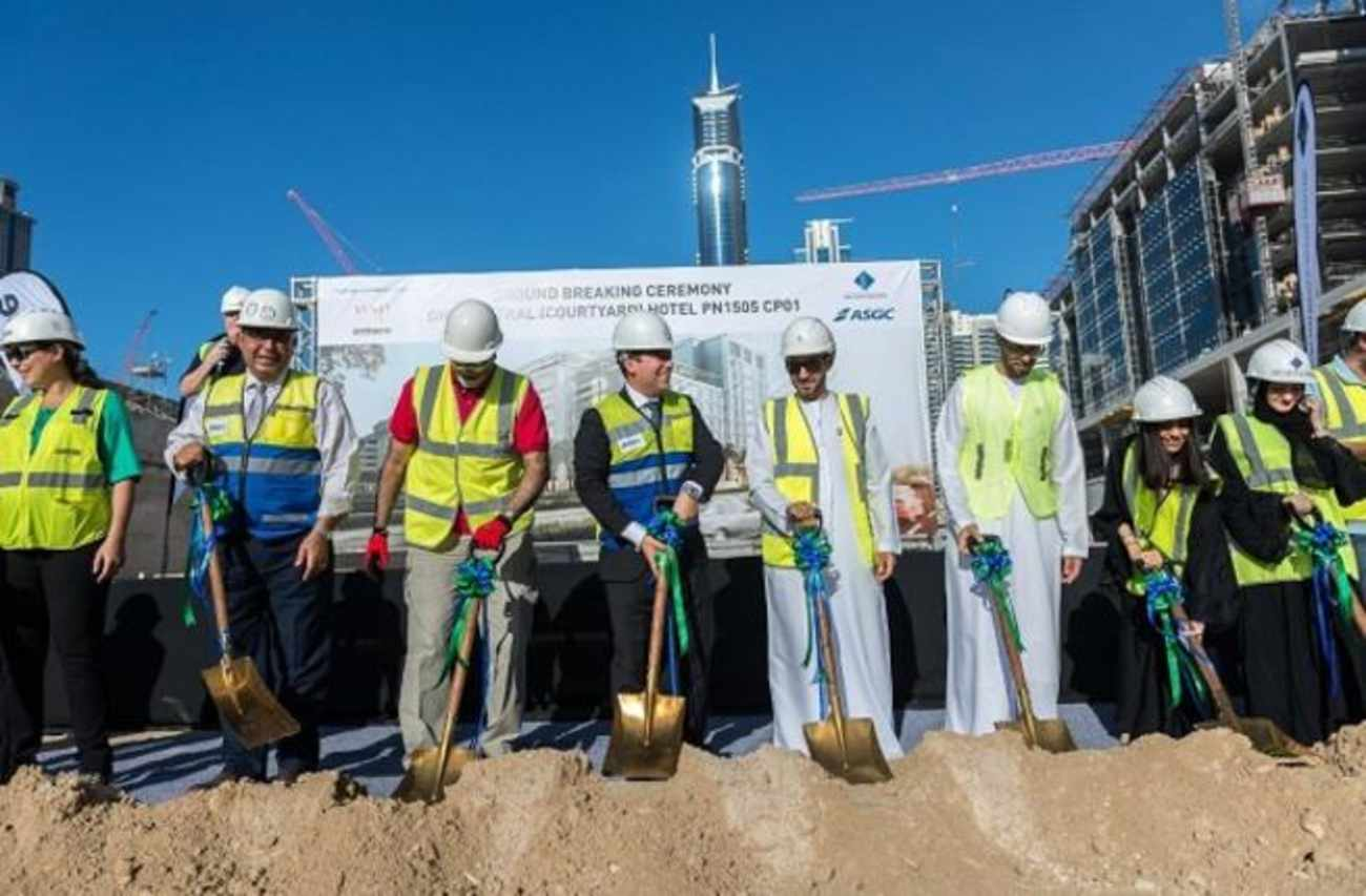 Ground Breaks on the 25 Hours Hotel in Dubai's One Central District