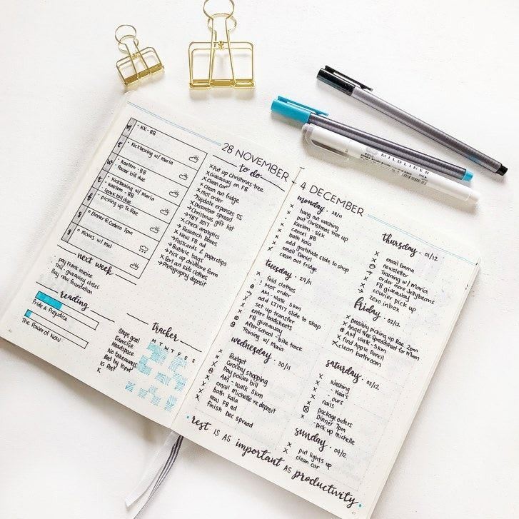 Use a Bullet Journal to Take Control of your Life