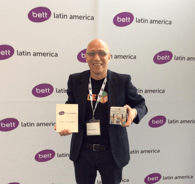 PleIQ es galardonado como la Mejor Innovación Educativa del 2017 por el BETT Latin America