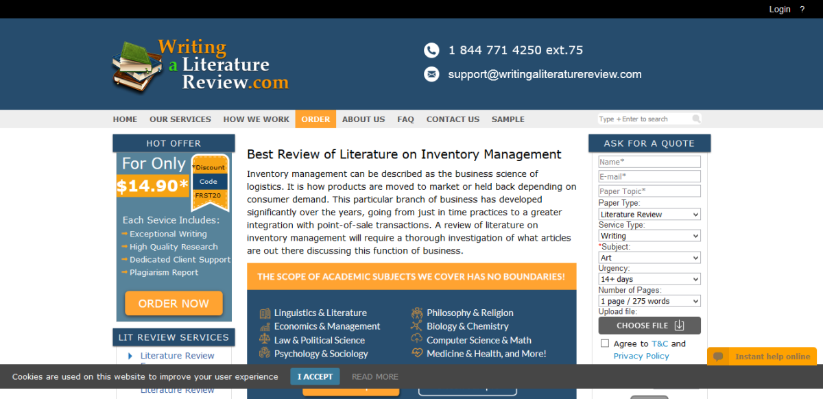Best Review of Literature on Inventory Management in 2019