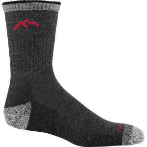 Darn Tough 1466 Hiker Micro Crew Cushion Socks - Black
