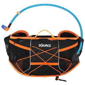 Source Hipster Wave 1.5 Litre Hydration Belt - Black/Orange