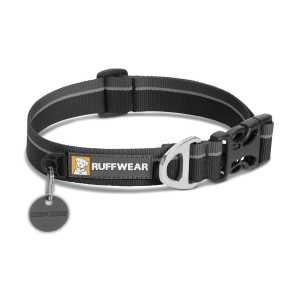 Ruffwear Hoopie Dog Collar - Obsidian Black