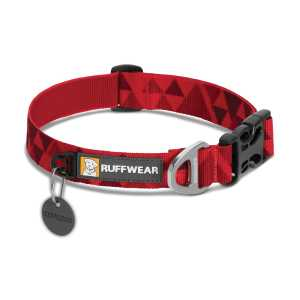 Ruffwear Hoopie Patterned Collar - Red Butte