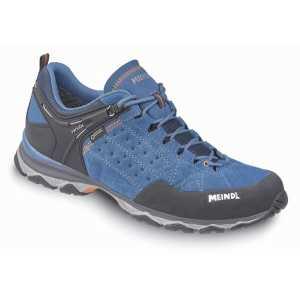 Meindl Ontario GTX Walking Shoes - Cobalt/Orange