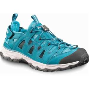 Meindl Womens Lipari Wide Fit Walking Sandals - Petrol Blue
