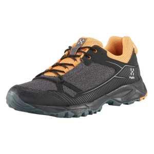 Haglofs Mens Trail Fuse Lightweight Walking Shoes -  True Black/Desert Yellow