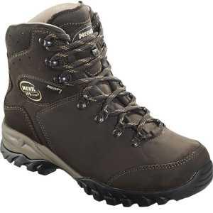 Meindl Meran GTX Mens Wide Fit Walking Boots - Dark Brown - size 9 - Ex-Demo