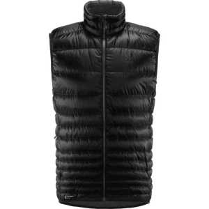 Haglofs Mens Insulated Essens Down Vest - True Black/Magnetite