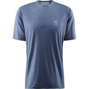 Haglofs Ridge Tee T-Shirt - Tarn Blue
