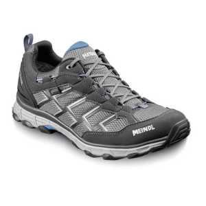 Meindl Activo GTX Wide Fit Walking Shoe - Anthracite/Ocean