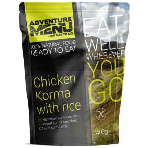 Adventure Menu Chicken Korma with Rice Camp Food