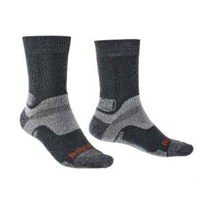 Bridgedale Hike Midweight Merino Performance Socks - Gunmetal