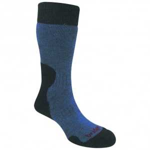 Bridgedale Womens Heavyweight Summit Socks - Storm Blue